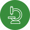 experiment, laboratory, microscope icon