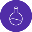 chemistry, equipment, flask, laboratory icon