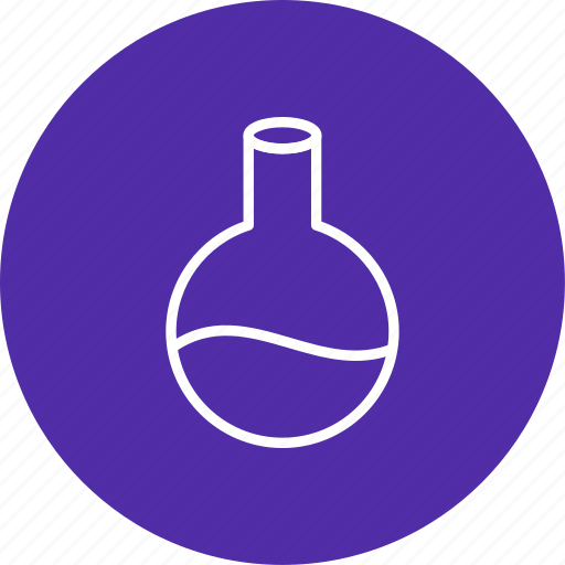 chemistry, flask, laboratory icon