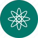 atom, nuclear, science, structure icon