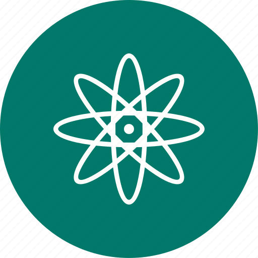 atom, nuclear, structure icon