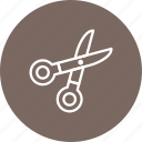 barber, cutting, scissor, tools icon