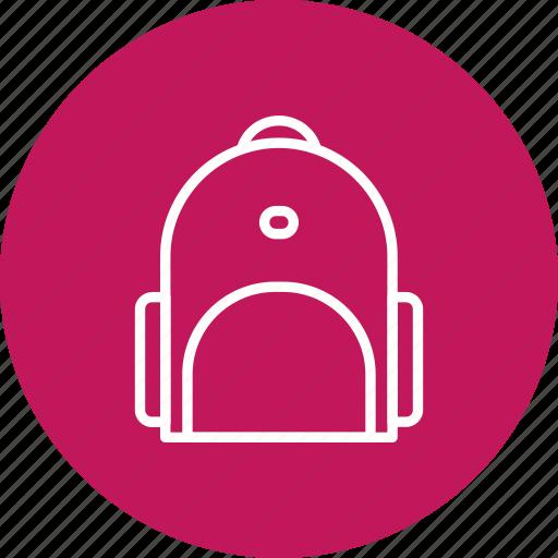 bag, briefcase, school bag icon