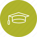 diploma, education, graduation, graduation cap icon