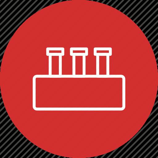 flask, laboratory, test tube icon