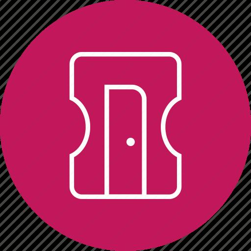 construction, sharpener, stationary, tool icon