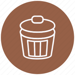 cancel, delete, dustbin, garbage, recycle, remove, trash icon