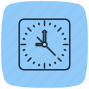 appointment, clock, schedule, stopwatch, timepiece, wall, watch icon
