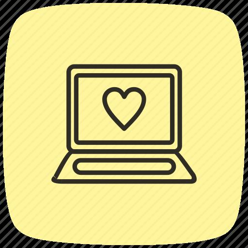 computer, desktop, device, laptop, macbook, pc, technology icon