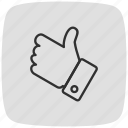 favorite, gesture, hand, like, love, star, valentine icon