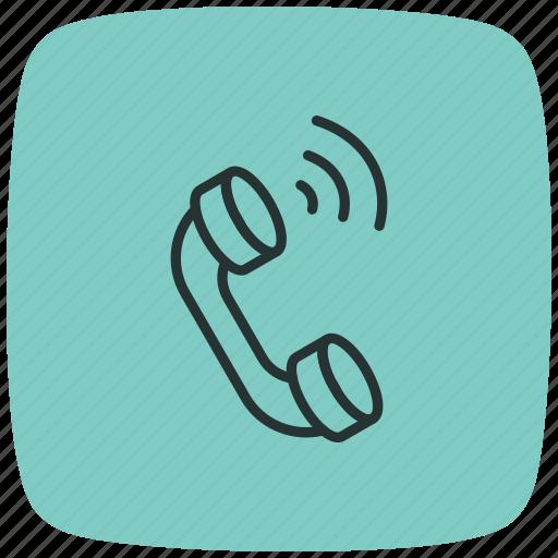 call, communication, phone, phone call, service, smartphone, telephone icon