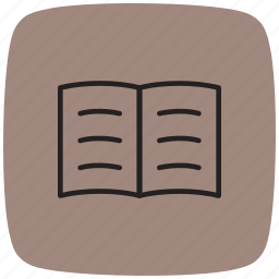 books, education, files, knowledge, library, paper, reading icon
