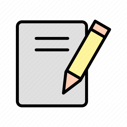 document, education, notes icon