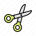 barber, cut, cutting, scissor icon