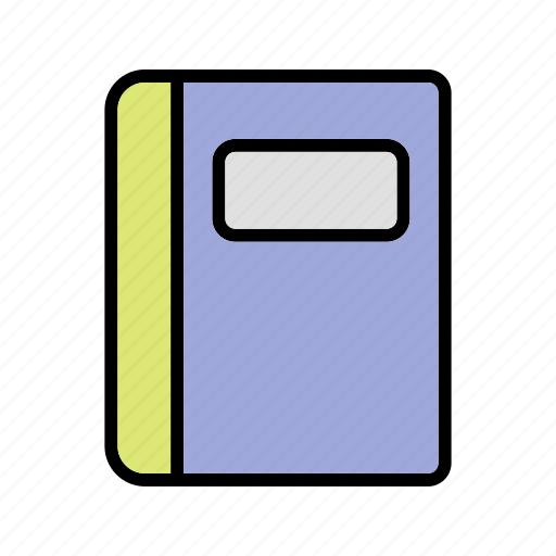 book, copy book, note book, note pad icon