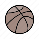 basketball, game, sport, sports icon