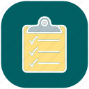 checklist, clipboard, list, paper, sheet, text, write icon