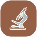 chemistry, healthcare, laboratory, medical, microscope, research icon