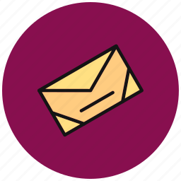 communication, email, envelope, letter, mail, post, send icon