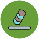 erase, eraser, recycle, refresh, remove, rubber, trash icon