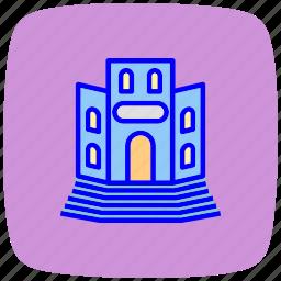educational, institute, knowledge, laboratory, school, science, university icon