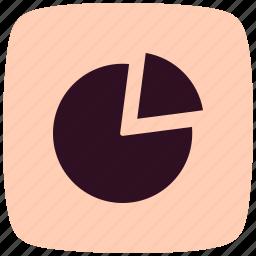 analysis, chart, marketing, pie, pie chart, presentation, statistics icon