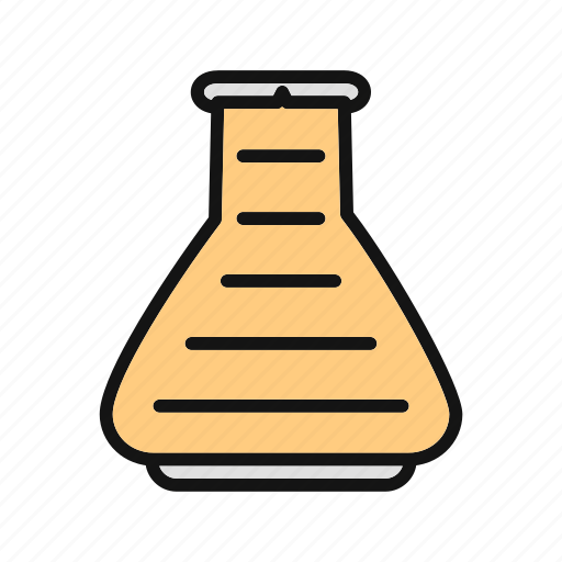 chemistry, equipment, flask, lab, science, test, tube icon