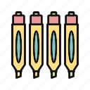 marker, markers, pin, point, pointer, print, printer icon