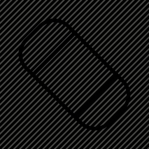 erase, eraser, rubber icon