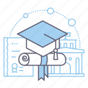 degree, education, graduation, university