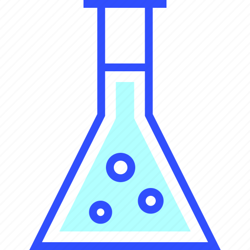 education, flask, learn, school, science, student icon