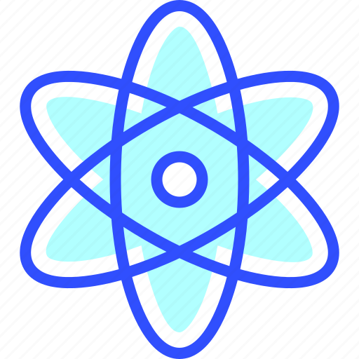 atom, education, learn, school, student icon