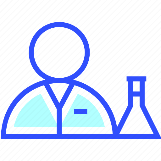 education, learn, school, scientist, student icon