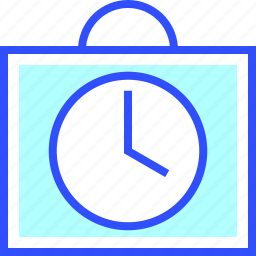 alarm, clock, education, learn, school, student icon