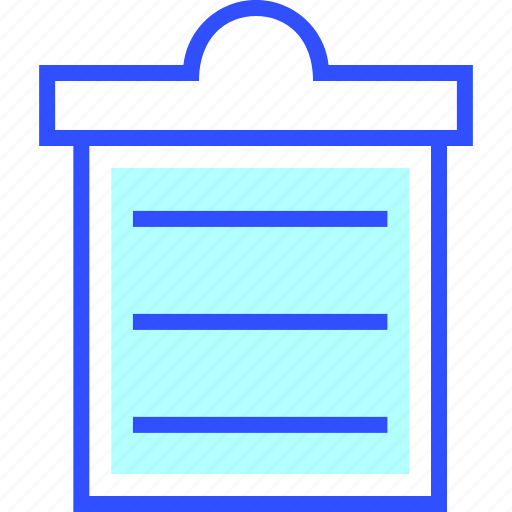 clipboard, education, learn, school, student icon