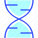 dna, education, learn, school, structure, student icon