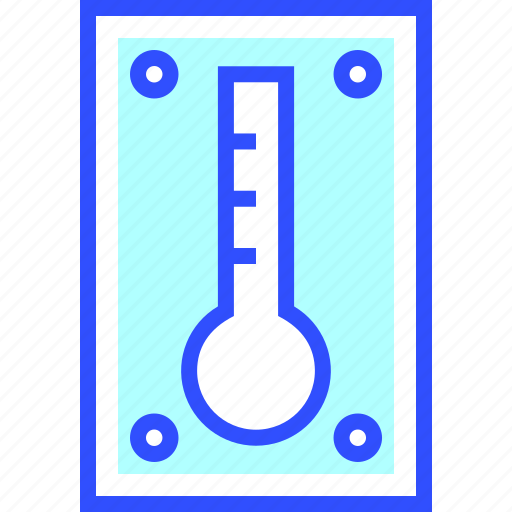 education, learn, school, student, thermometer icon
