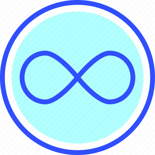 education, infinity, learn, school, student icon