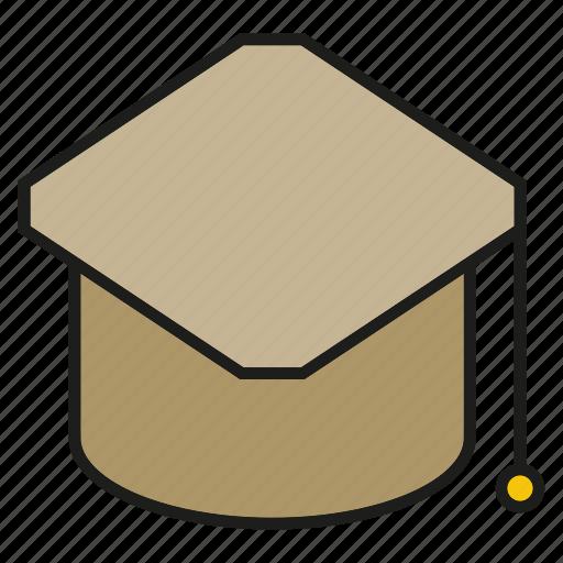 achievement, cap, graduation cap, student icon