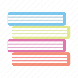 book, books, education, learn, novel, read, stack of books icon