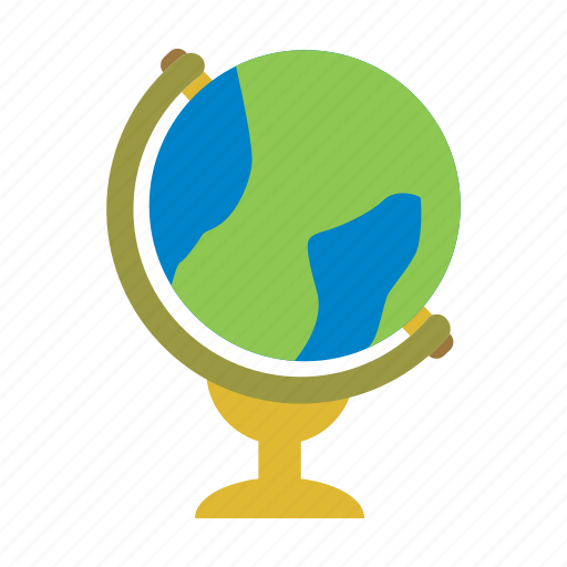 atlas, earth, education, globe, island, world icon