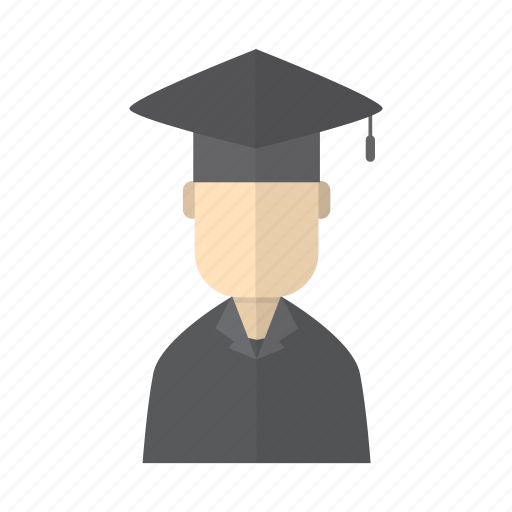 education, graduate, graduation, hat, lecture, pass, proffesor icon