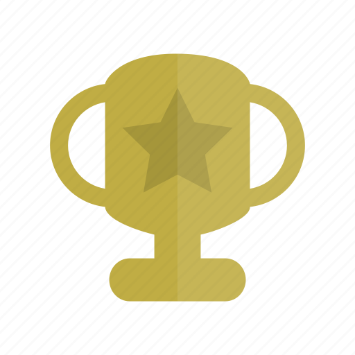 champion, education, gold, reward, star, trophy, winner icon