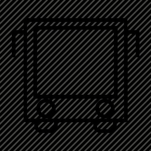 Bus, public transport, school, transportation, vehicle icon - Download on Iconfinder