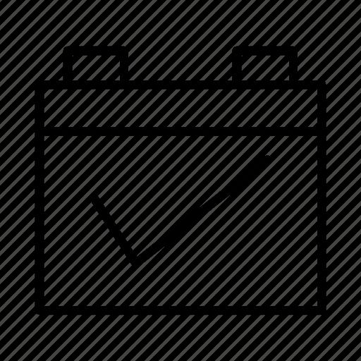 Agenda, calendar, event, planning, schedule icon - Download on Iconfinder