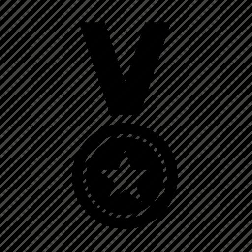 award, medal, prize, sport, star, winner icon