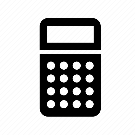 calculator, college, education, maths, school, supply, tool icon