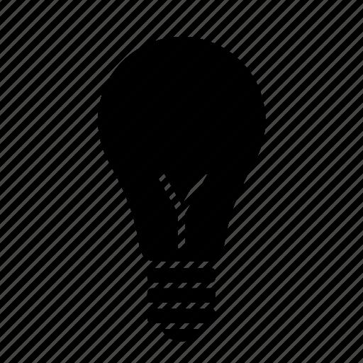 bulb, college, education, idea, light, lightbulb, school icon