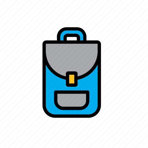 backpack, college, education, faculty, school, university icon
