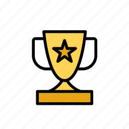 cup, sport, star, trophy, winner icon